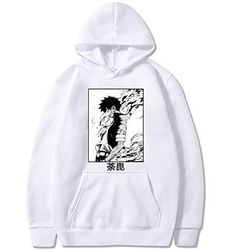 Boku No Hero Academia Sudadera con Capucha Dabi Unisex Harajuku My Hero Academia Sudadera Streetwear Hip Hop Hoodies
