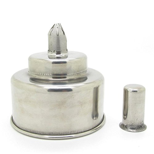 New 200mL Stainless Steel Alcohol Burner