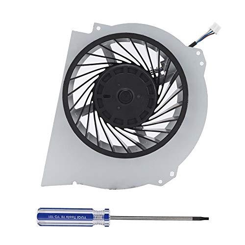 Koelventilator, duurzame interne koelventilator met schroevendraaier voor PS4 PRO, eenvoudig te installeren en te verwijderen, met uitstekende prestaties (ABS)
