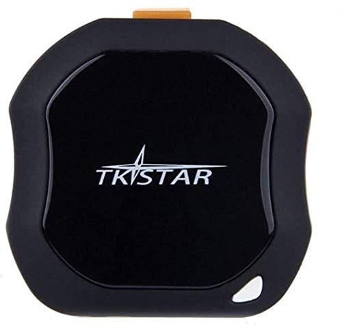 TKSTAR Mini Waterproof Tracking Device with Powerful Magnet Long Standby GPS Tracker Locator for Kids Seniors Pets Cars (FREE CUSTOMER SUPPORT MON-FRI VIA VULU GLOBAL)… (Mini GPS)