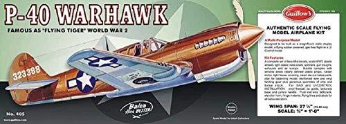 Krick P-40 Warhawk Balsabausatz