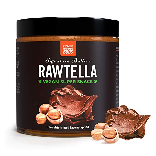 Rawtella | 100% Natural, Crema De Avellanas Con Chocolate Vegana | THE PROTEIN WORKS
