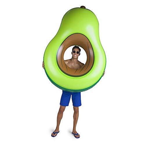 BigMouth Inc. - Riesiger Avocado Schwimmring Luftmatratz - Aufblasartikel Strandspielzeug