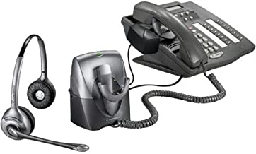 Plantronics CS361N Binaural SupraPlus Wireless Professional Noise-Canceling Headset System with Lifter (Discontinued by Manufacturer)