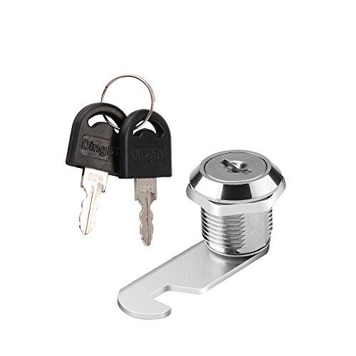 ONEVER Kabinettschublade Mailbox Türschrank Sicherheitsschloss mit 2 Schlüsseln (16mm)