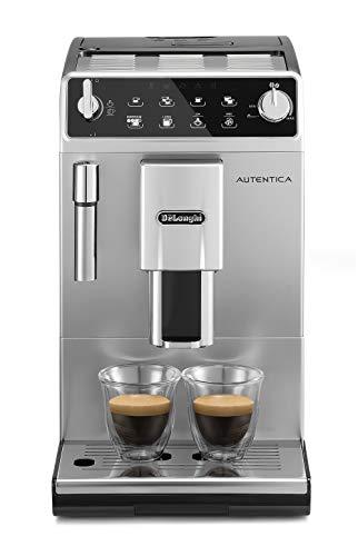 De'Longhi ETAM29.510.SB Autentica Macchina da caffè Automatica, 1450 W, 1.4 Litri, Acciaio Inossidabile, Argento