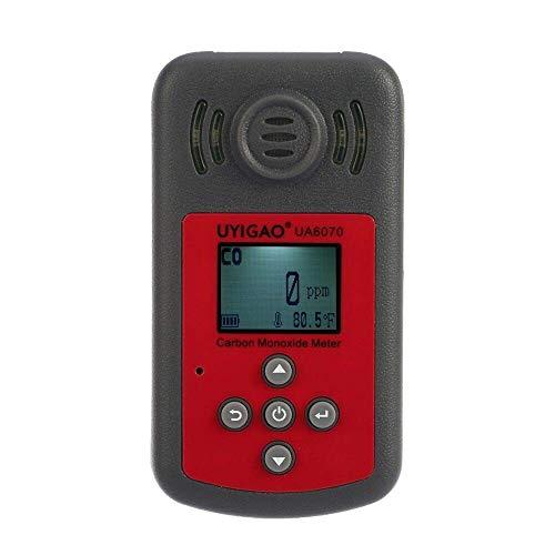 Hyy-yy. Tragbare Gasdetektor Digital-Gas Monitor High Precision CO-Meter Prüfvorrichtung Hand Kohlenmonoxid-Gas-Detektor-Monitor mit LCD-Anzeige Sound Light Alarm 0-2000ppm Scientific Products