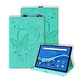 Keikail Funda para Samsung Galaxy Tab A 10,1 2016 (SM-T580 / T585), Funda Protectora de Cuero PU, Cubierta Estuche con Soporte Función Auto-Sueño/Estela, para Galaxy Tab A6 10.1 Pulgadas, Verde