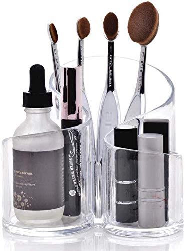 Joyero TZSMSSH Caja de almacenamiento cosmética de maquillaje de fantasía múltiple a...