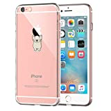 Coque iPhone 6/iPhone 6S, Bumper Housse Etui [Liquid Crystal] Ultra Mince Protection...