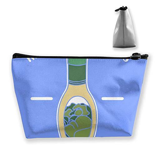 Bolsa de cosméticos para mujer, bolsa de maquillaje de viaje, mini monedero con cremallera para artículos de tocador, regalos perezosos (Rasta Lion Judah con gafas de sol fumando reggae jamaiquino)