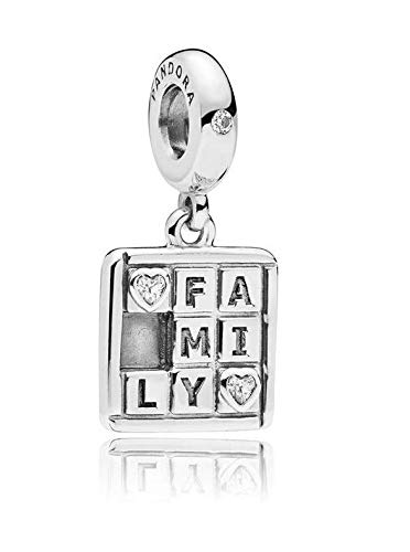 PANDORA Family Game Night Dangle Sterling Silver Charm - 797626CZ