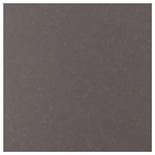 RÅHULT specialtillverkad väggpanel 1 m²x1,2 cm matt mörkgrå/marmoreffekt kvarts