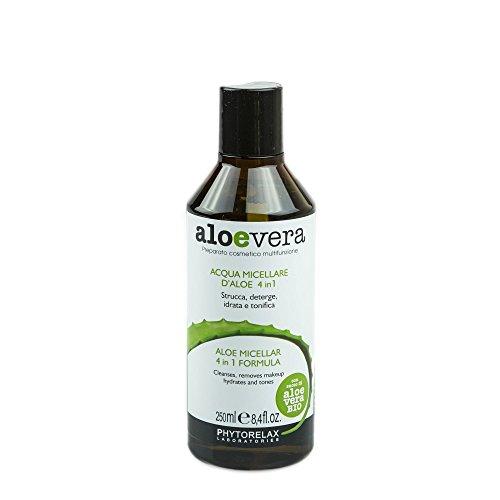Phytorelax Eau micellaire visage 4 en 1, formule à l'aloe vera, 250 ml