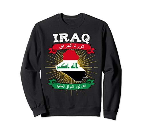 Mape & Flagge Irak Iraq map Karte Flagge Sweatshirt