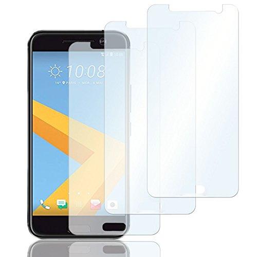 Eximmobile 3X Schutzfolien für HTC Desire 500 Folie | Bildschirmschutzfolie | Bildschirmfolie Schutzfolie | selbstklebend | transparent | blasenfrei | kein Glas | Flexible Folien