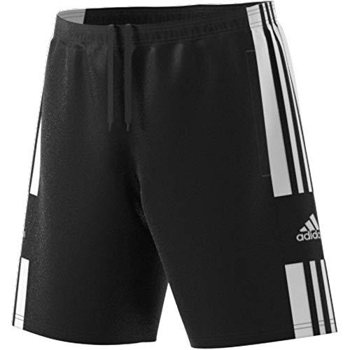 adidas Mens Shorts (1/4) Sq21 DT SHO, Black/White, GK9557, M EU