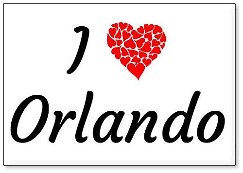 I Love Orlando, fridge magnet (design 3)