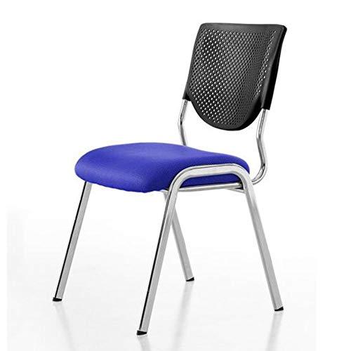 QIDI Chaise de Bureau, Chaise de Formation, Chaise Pliante, Chaise d'ordinateur, Acier, Fibre PP + , Simplicité Moderne Ergonomie - Ceinture WordPad - Four Loaded