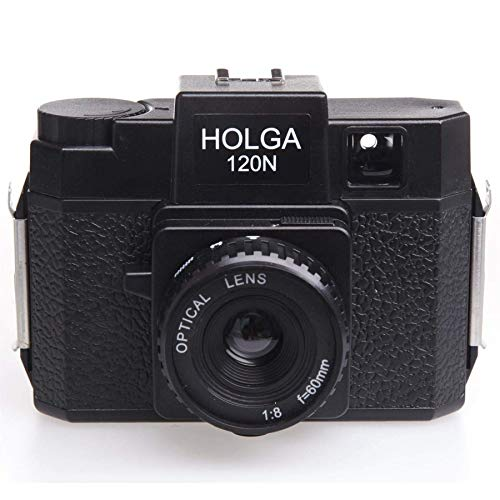 HOLGAホルガフィルムカメラH-120Nブラックブローニーフィルム使用