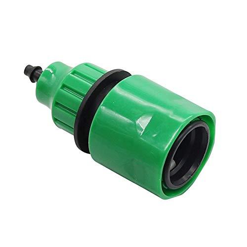 NLJYSH Durable El Accesorio 1 Pc Jardín de Acoplamiento rápido de Agua 1/4 Pulgadas Conectores de Manguera de jardín rápida Conectores de tuberías de riego Tubería Homebrew Simple y Generoso