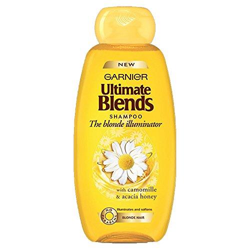 Garnier, shampoo Ultimate Blends (versione inglese) alla camomilla per capelli biondi, 400 ml