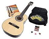 Calida Benita Guitare Classique 7/8 nature avec accessoires