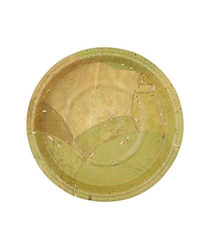 Piatti foglia monouso ecologici, confezione da 35 cm 40 piatti biodegradabili per picnic, grigliate, matrimoni