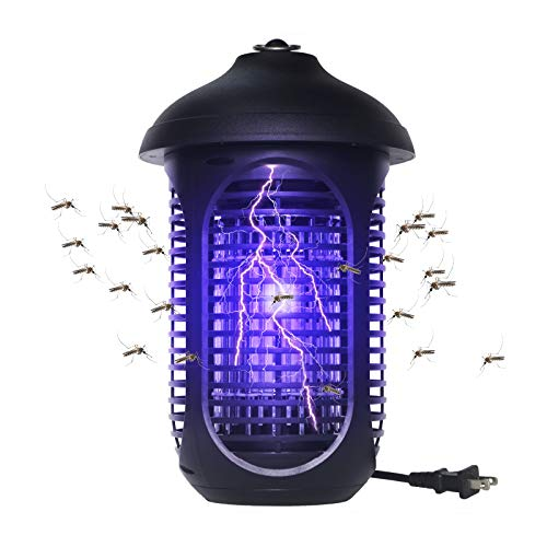VANELC Bug Zapper, Insect Fly Trap, Mosquito Killer Waterproof for Indoor & Outdoor - Electronic Light Bulb Lamp for Backyard, Patio, Home