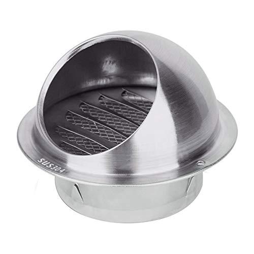 LTLCBB Sombrero de Chimenea de Malla, Acero Inoxidable Sombrero, Extractor de Humo Estufa de Tapa Protectora Evita el Viento y la Nieve, Cubierta Anti-Pájaros 80-300mm,300mm