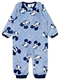 Disney Mickey Mouse Infant Baby Boys Fleece Pajamas Blue, 24 Months