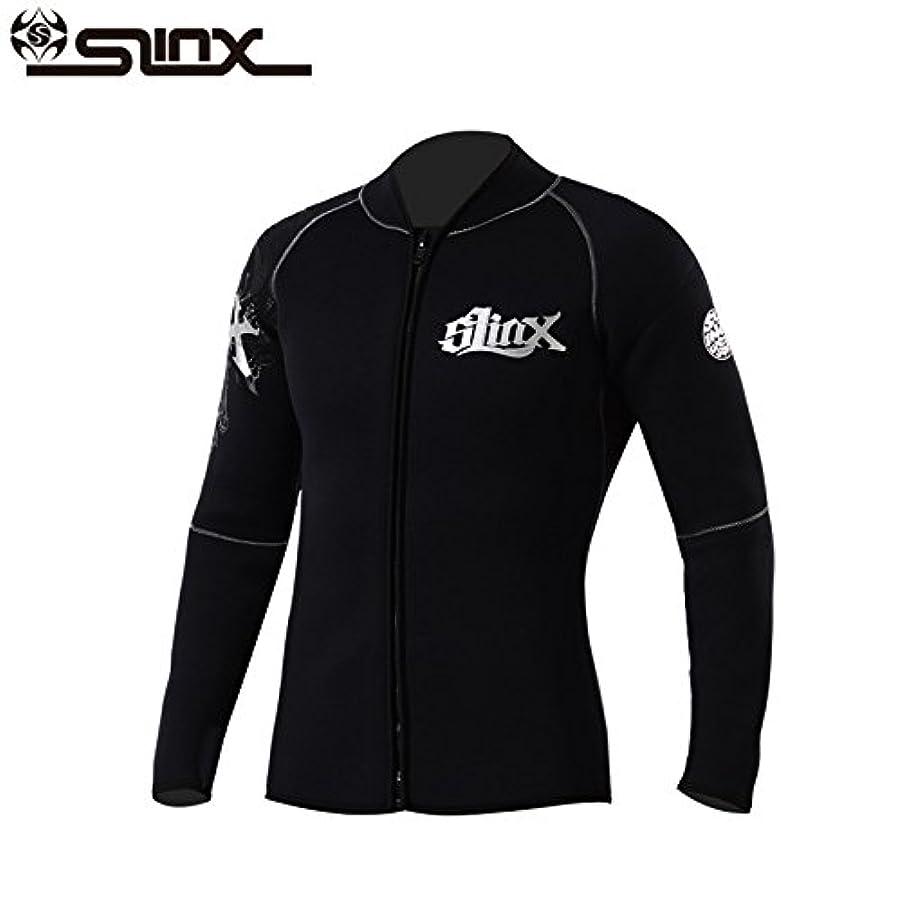 分数贅沢黒くするAIRFRIC (エアーフリック) ウェットスーツ メンズ 3mm 5mm ロングスリーブ ジャケット フロントジッパー タッパー 裏材保温防寒起毛素材 XD1109