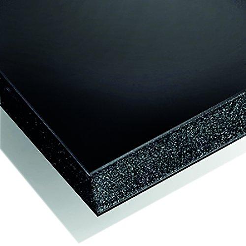 Cathedral FBBKA420DE Schaumstoffplatte, 20 Stück, A4, schwarz