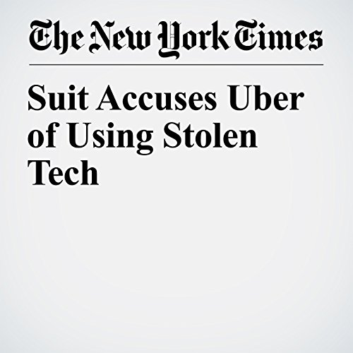 Suit Accuses Uber of Using Stolen Tech copertina
