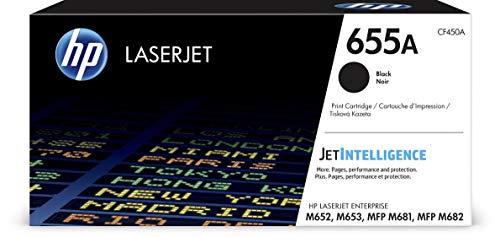 HP 655A (CF450A) Schwarz Original Toner für HP Color LaserJet Enterprise M652, M653, M681, M682