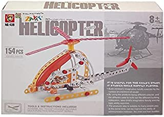 Toy Helicopter Intelligent Assembly - 154 Pcs