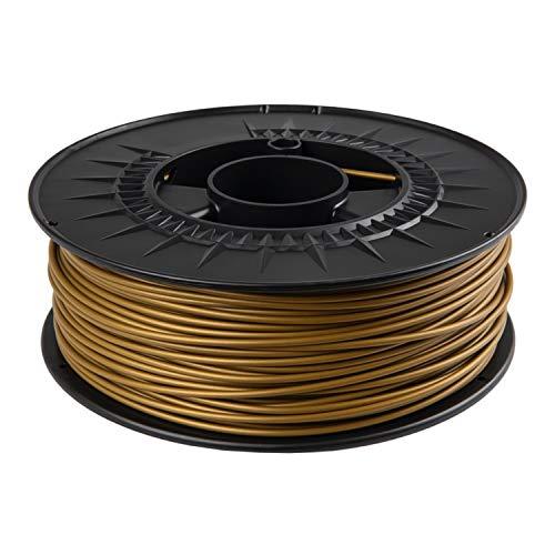 Filamento PLA 1,75 mm 1 kg per uso alimentare per stampante 3D in colori RAL (giallo urry RAL 1027)