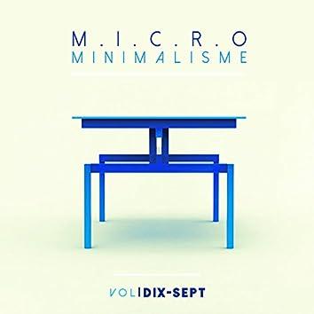 Micro Minimalisme Vol. Dix-Sept