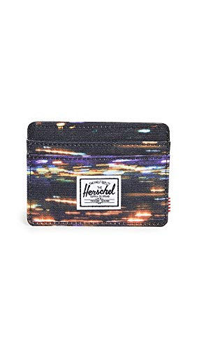 Herschel Supply Co. Men's Charlie RFID Wallet, Night Lights, Print, One Size