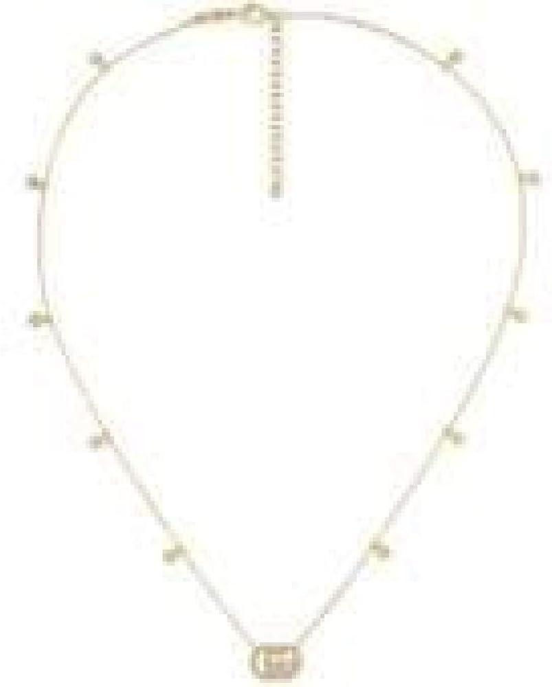 Gucci,collana gg running in oro giallo 18 k e diamanti per donna YBB48162400100U