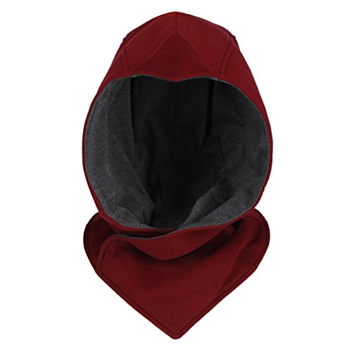 The Cosplay Company Stealth Red Hood Cosplay Costume Cloak (NEW Red)