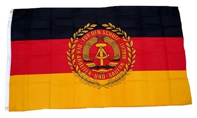 Fahne / Flagge DDR NVA Truppenfahne 90 x 150 cm
