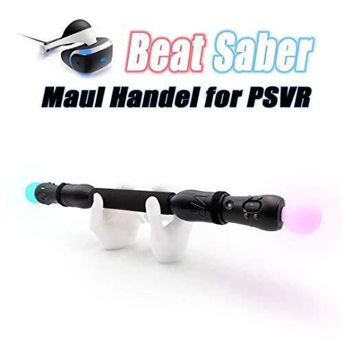 ビートセイバーをプレー(play beat saber) PSVR-Sony Playstation VR コントローラー適用のゲームハンドル (Game Handles for PS4 Controllers) 高品質 1年保証