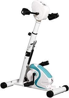 電動ペダル 電動トレーナー - エアロバイク 静止、高さ調節可能 アーム & レッグ インドア フィットネス リハビリテーション トレーニング自転車、LCD ディスプレイ付き
