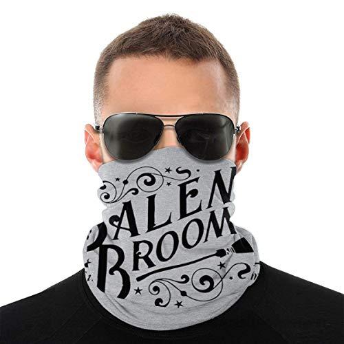 Teemoo Salem Besen Co Est 1692 Besenstiel Emblem Vielfalt Kopftuch Gesichtsmaske Magische Kopfbedeckung Hals Gamasche Gesicht Bandana Schal