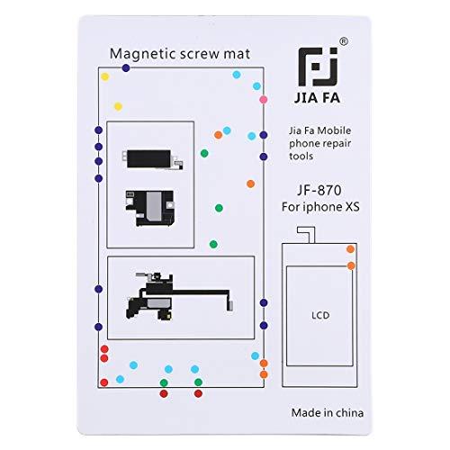 SPAREPARTS - Recambios para teléfono JF-870 Pad magnético consejo tornillos para iPhone XS