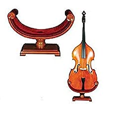 Strad Ornate Carved Wooden Cello Stand - Best Cello Stands