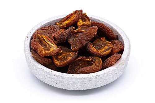 Getrocknete Bio Fairtrade Kuraga Aprikosen Hälften – Sonnengetrocknet, ungeölt, ungesüßt und nicht bedampft – Aus Wildsammlung – Rohkost – Ohne Stein – Aus Usbekistan – 1kg