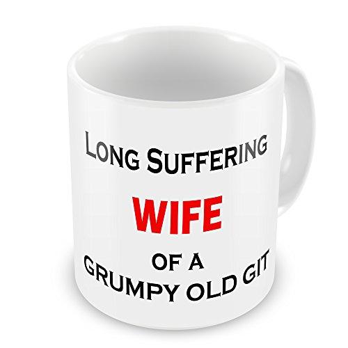 Long Suffering Wife of a Grumpy Old Git Mug
