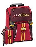 Panini spa Schoolpack Zaino Scuola Roma Estensibile 40x30x13 cm + Astuccio 3 Zip